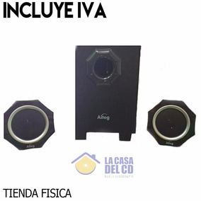 Cornetas Aiteg Mn1 Color Negro, Multimedia Speaker System