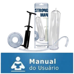 Bomba Peniana Seringa Aumento & Engrossa Pênis Com Manual