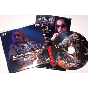 Ace Frehley Buenos Aires 2017 Dvd (kiss)