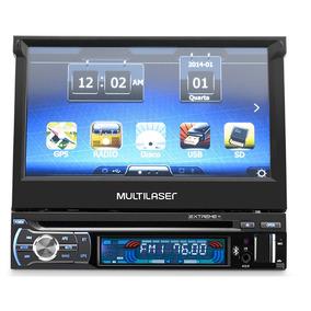 Som Automotivo Dvd Player Tela 7 Bluetooth Gps Tv Digital