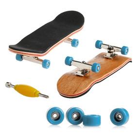 Skate Dedo Profissional Madeira Fingerboard Rolamento Barato