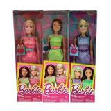 Barbie Muñeca Anillo Corazón Articulada Mattel 30 Cm