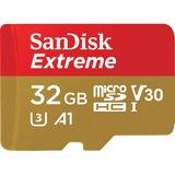 Memoria Microsd Hc Sandisk Extreme 32gb U3 V30 C-10 Gopro A1