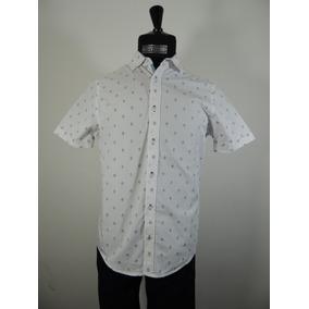 Camisa Color Blanco Manga Corta Caballero Chevignon