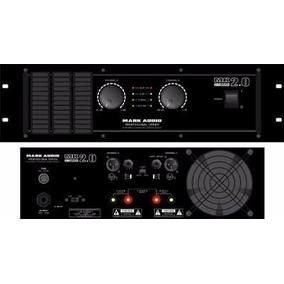 Amplificador Potência 2000 Watts Rms Mark Audio Mk 2.0