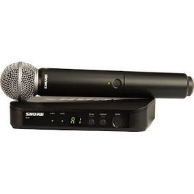 Shure Blx24/sm58 Microfono Inalambrico De Mano Sm58