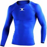 Camiseta Remera Térmica Gilbert Futbol Rugby Ski Running