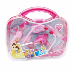 Maleta Kit Médico Princesas Com Luz E Som 26806 Toyng