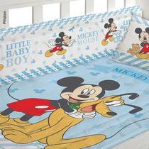 Acolchado Cuna Funcional Mickey Disney Baby (100% Original)