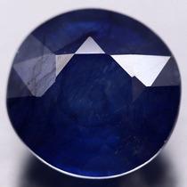 Safira Azul Natural De 7.75 Cts(10.7x10.4mm)