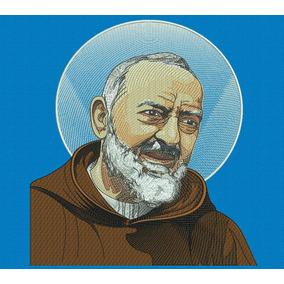Matriz Bordado Computadorizado Religioso Padre Pio