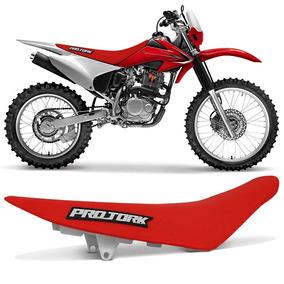 Banco Crf 230 Pro Tork Moto Honda Vermelho Crf230 Completo