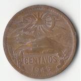 Moneda Mexicana 20 Centavos Año 1945, Ii Guerra Mundial
