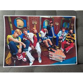 Kpop Posters + Photocards Bts Exo Monsta X Red Velvet Y Mas