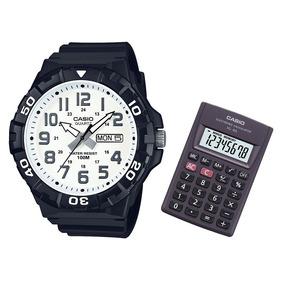 Relógio Masculino Casio Mrw-210h-7avdf + Calculadora Casio