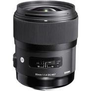 Sigma 35mm F/1.4 Art. Hsm Dg Para Nikon C/ Recibo