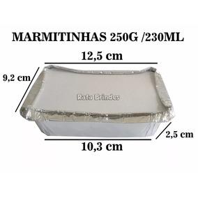 400 Marmitas / Marmitinhas Para Personalizar - 250g