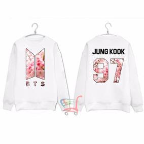 Blusa Moletom Bts Army Nova Logo Kpop Integrantes Jungkook