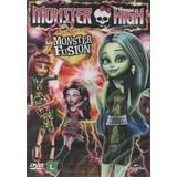 Monster High - Monster Fusion - Dvd - Laura Bailey