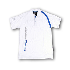 Vwracing Playera Tipo Polo Blanca, Vwr White Collection Polo