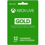 Un Año De Xbox Live Gold En Una Cuenta Nueva