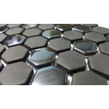 Venecitas De Vidrio Cristalino Hexagonal Mate / Brillo