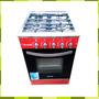 Cocina Semi Industrial Usman 4 Hornallas 55 Cm Puerta Visor