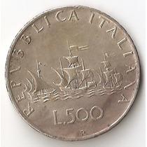 Italia, 500 Lire, 1960. Plata. Xf