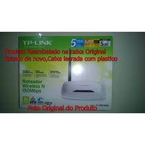 Roteador Wireless Tp-link Tl Wr 740n 150mbps(estado De Novo)