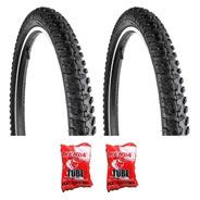 Par Pneu Levorin Excess Ex Aro 26x1.95 Bike C/camaras Mtb