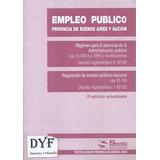 Legislacion Empleo Publico En Provincia Bs Aires - Dyf