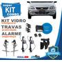 Kit Vidro Elétrico Corsa Classic 2010 4 Portas+alarme+travas