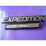 Emblema Expedition Eddie Bauer Triton V8 Ford Original