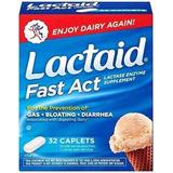 Lactaid Fast Act 32 Capsulas Intolerância Lactose