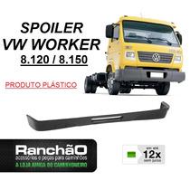 Spoiler Parachoque Caminhão Vw Worker 8.120 8.150 Plástico