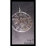 Medalla Tetragramatón (pentagrama) De Plata