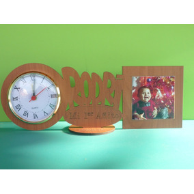 Souvenirs Reloj Y Nombre Personalizad Cumples Infant 18 Años