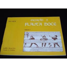 Método Iniciação À Flauta Doce Judith Akoschky *frete Grátis