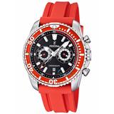Reloj Festina Caballero Crono Caucho Rojo F16574/5