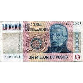 Lucas Col Argentina Billete 1.000.000 Pesos A Bot 2514
