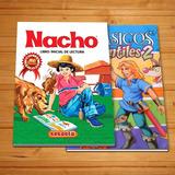 Cartilla Nacho + Libro De Cuentos Infantiles