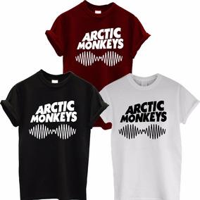 Camiseta Banda Arctic Monkeys Blusa Manga Curta