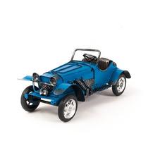 Miniatura Carro De Lata - Bugatti Antigo