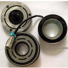 Conjunto Embreagem Compressor Delphi Disco + Polia + Bobina