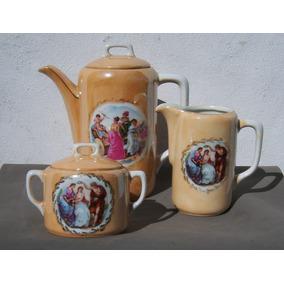 Historical*- Raro Juego Café Sellado Germany Porcel.-envío