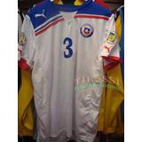 Camiseta Seleccion Chilena Puma Recambio Oficial - Tifossi