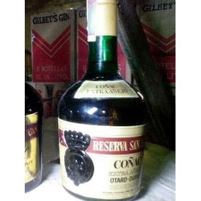 Antiguas Botellas De Coñac Reserva San Juan