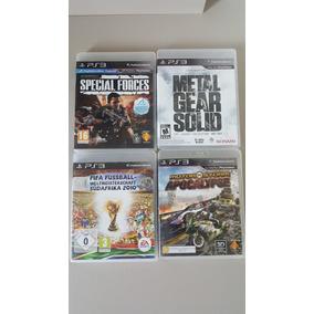 4 Jogos Originais Playstation 03