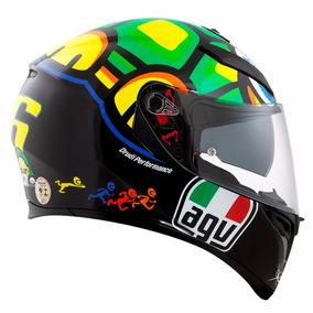 Capacete Agv K3 Sv K-3 Turtle Valentino Rossi
