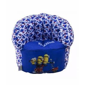 Poltrona Sofa Infantil Minions Ingles Original
